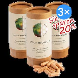 SANOX-RYOKUCHA (Grüner Tee Extrakt) 3x120 Kapseln