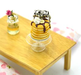 """Sautoir """"Ma pyramide de pancakes gourmands """""""