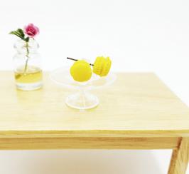 Mes mini macarons (Citron)
