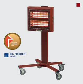 SPOTTER Infrarot-Heizung 2 x 1,5 kW