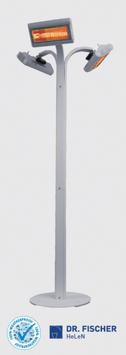 RIVIERA IP Infrarot-Heizung 3 x 2 kW
