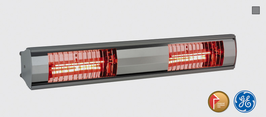 CARNIVAL Infrarot-Heizung 2 x 0,75 kW