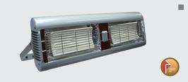 SORRENTO CERAMIC double Ceramic-Element-Heizung 2 x 1,3 kW
