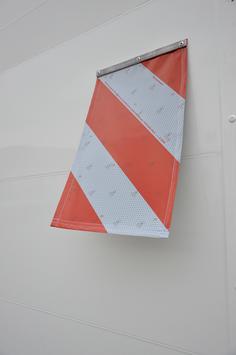 Warnflaggen inkl. Anbaumaterial