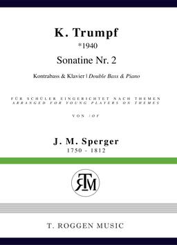 Sonatine Nr 3 für Kontrabass & Klavier