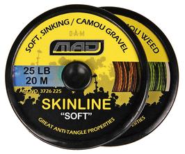 Поводковый материал Mad Carp SOFT d- 0,25  30 lb  (10 метров)