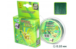 """Плетенка """"SPIDER GREEN"""" 100 м / 0.18 мм"""