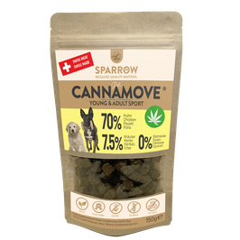 SPARROW PET CANNAMOVE® Young & Sport SNACKS