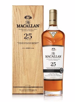 The Macallan Sherry Oak 25 Years Old – 0,7l, 43% Vol.