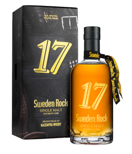 Mackmyra Sweden Rock 17 Bourbon Cask - 0,7L , 40% Vol.