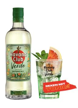 Havana Club VERDE - 0,7l, 35% Vol.