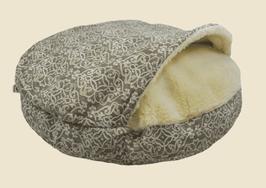 Snoozer Cozy Cave - Gondola Grey - WAG Collection