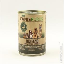 Canis Purus Blik BIO Eend met venkel & boekweit