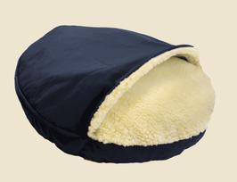 Snoozer Cozy Cave - Navy - Poly Cotton