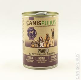 Canis Purus Blik Paard met zoete aardappel & courgette