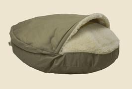 Snoozer Cozy Cave - Khaki - Poly Cotton