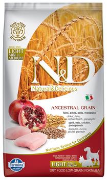 Farmina N&D Ancestral Grain Huhn, Dinkel, Hafer & Granatapfel