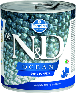 Farmina N&D Ocean Kabeljau & Kürbis