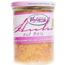 Gina & Fritz HUHN auf Reis
