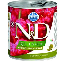 N&D Quinoa Skin + Coat Ente