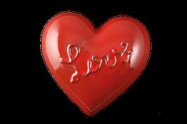 """3506 Cuore gioie&dolori cm 15x15x3,5 h """"love"""""""