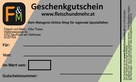 Gutschein 50,00