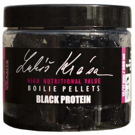 LK BAITS LUKAS KRASA BLACK PROTEIN FRESH PELLETTS 12-17mm 250ml