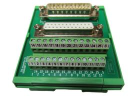 DSUB25MFT - Übergabemodul D-SUB  25-polig