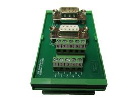 DSUB09MFT - Übergabemodul D-SUB  9-polig