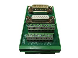 DSUB15MFT - Übergabemodul D-SUB  15-polig
