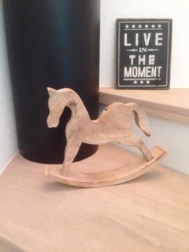 Schaukel- Pferd Holz