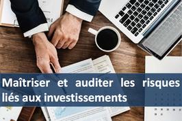 """1 accès pour la formation """" Maîtriser et auditer les risques liés aux investissements """""""