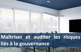 """1 accès pour la formation """" Maîtriser et auditer les risques liés à la gouvernance """""""