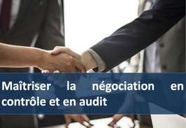 """1 accès pour la formation """" Maîtriser la négociation en contrôle et en audit """""""