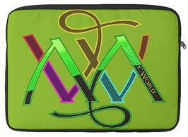 i-Pad Tasche KAKI Farbe Nr. 13 - mit MW Logo bunt - und ihrer ausgewählten Lieblingsfarbe ?