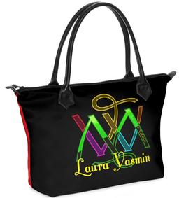 NR. 1 - Henkeltasche-Strandtasche-Einkauftasche-Majesticworld mit deinem Namen