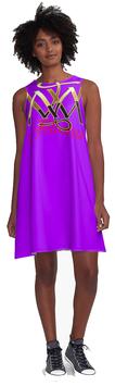 A-Linienkleid ` Felicitas ` Farbe 18 ? auch mit deinem Namen ?