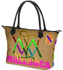 Nr.3 - Schulter - Tasche - MALLORCA - Margerita - personalisiert