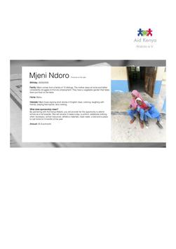 Sponsorship Mjeni Ndoro
