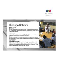 Sponsorship Kidanga Salimini