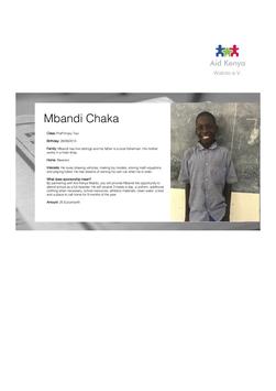Sponsorship Mbandi Chaka