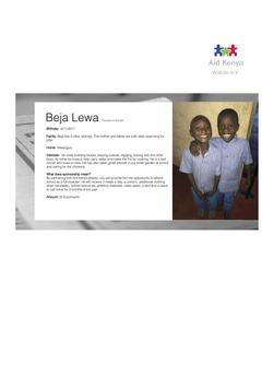 Sponsorship Beja Lewa