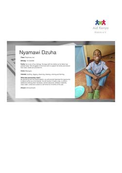 Sponsorship Nyamawi Dzuha