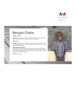 Sponsorship Bengao Chaka
