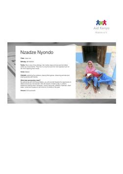 Sponsorship Nzadze Nyondo