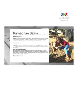 Sponsorship Ramadhan Salim