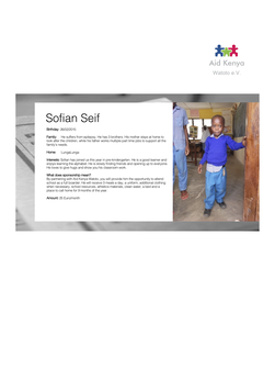Sponsorship Sofian Seif
