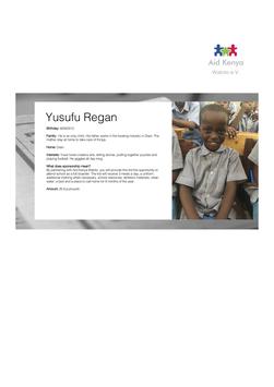 Sponsorship Yusufu Regan