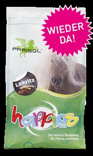 Parisol delicious-  Lakritz
