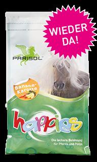Parisol delicious snacks  Happies Banane- Karotte
